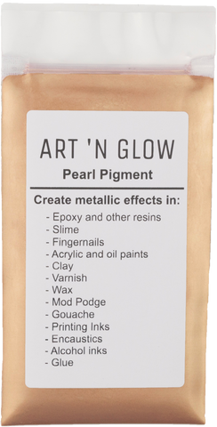 Rose Gold Pearl Pigment