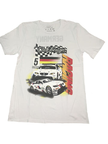 "Club Foreign Racing ""Germany"" T Shirt ""White"""