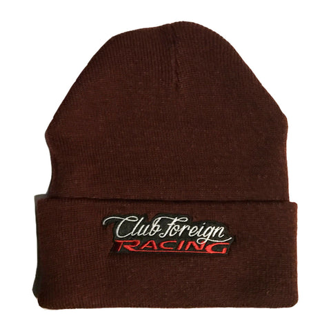 Club Foreign Racing Beanie Hat