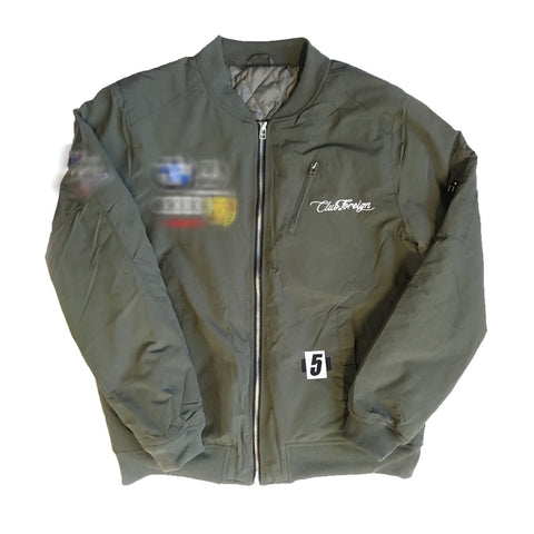"Club Foreign Bomber Jacket ""OLIVE"""