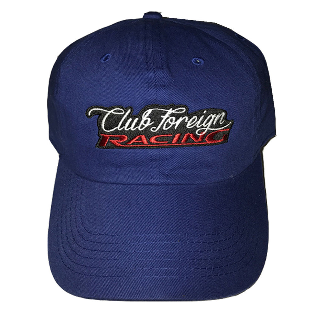 Club Foreign Racing Dad Hat