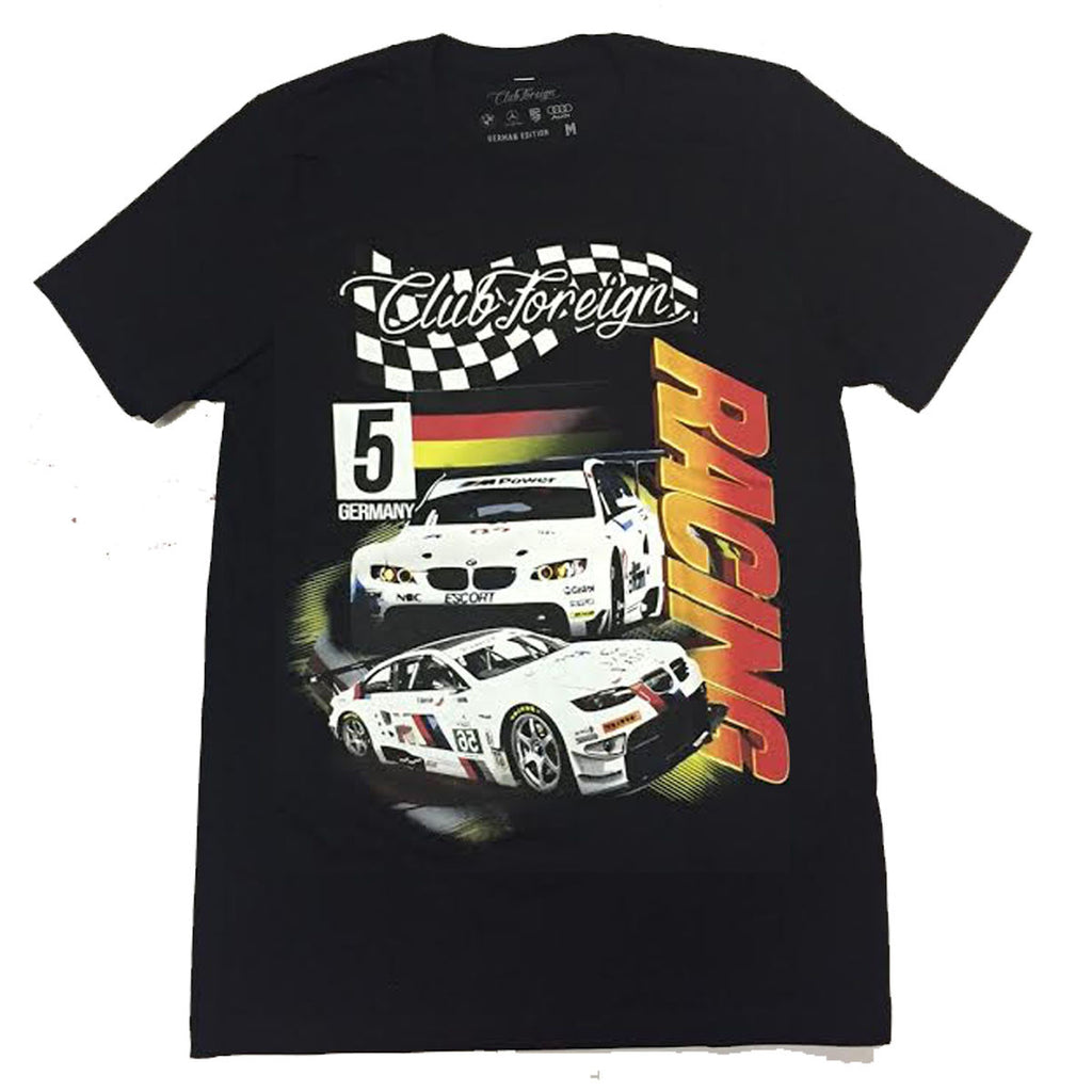 "Club Foreign Racing ""Germany"" T Shirt ""Black"""