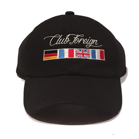 "Club Foreign ""Worldwide"" Dad Hat"