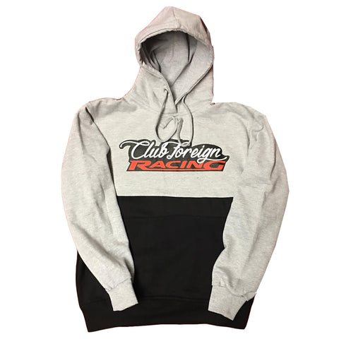 "Club Foreign Racing Hood 2 Tone ""Grey"""