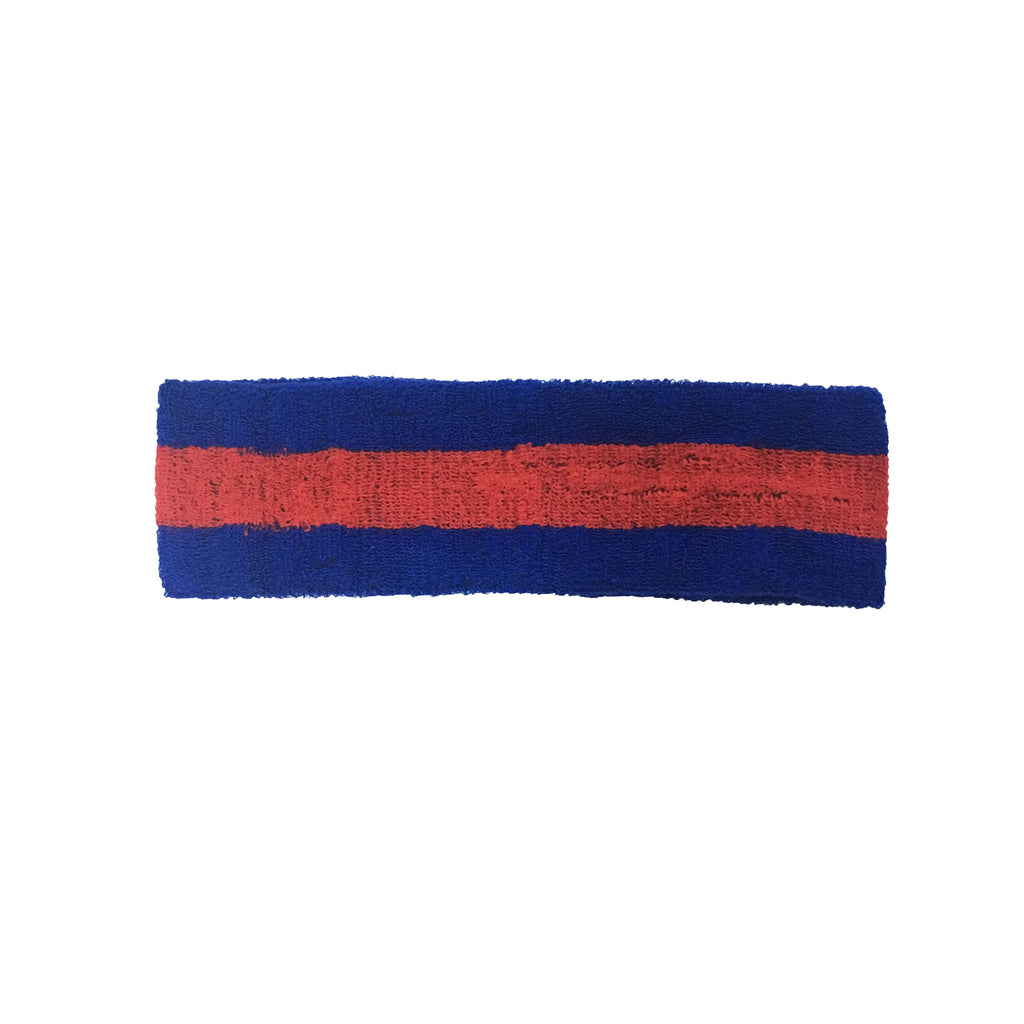 Blue/Red Headband
