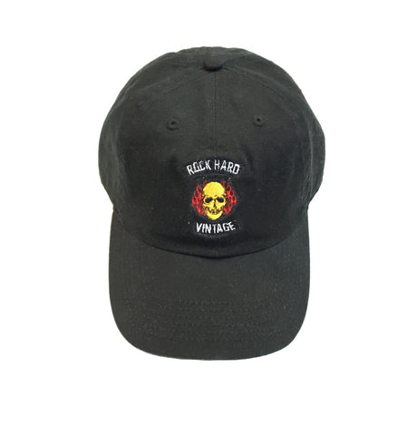 "Rock Hard Vintage ""Skull"" Dad Hat"