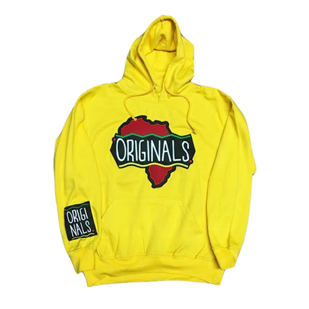 "Originals ""Motherland"" Hoodie ""Yellow"""