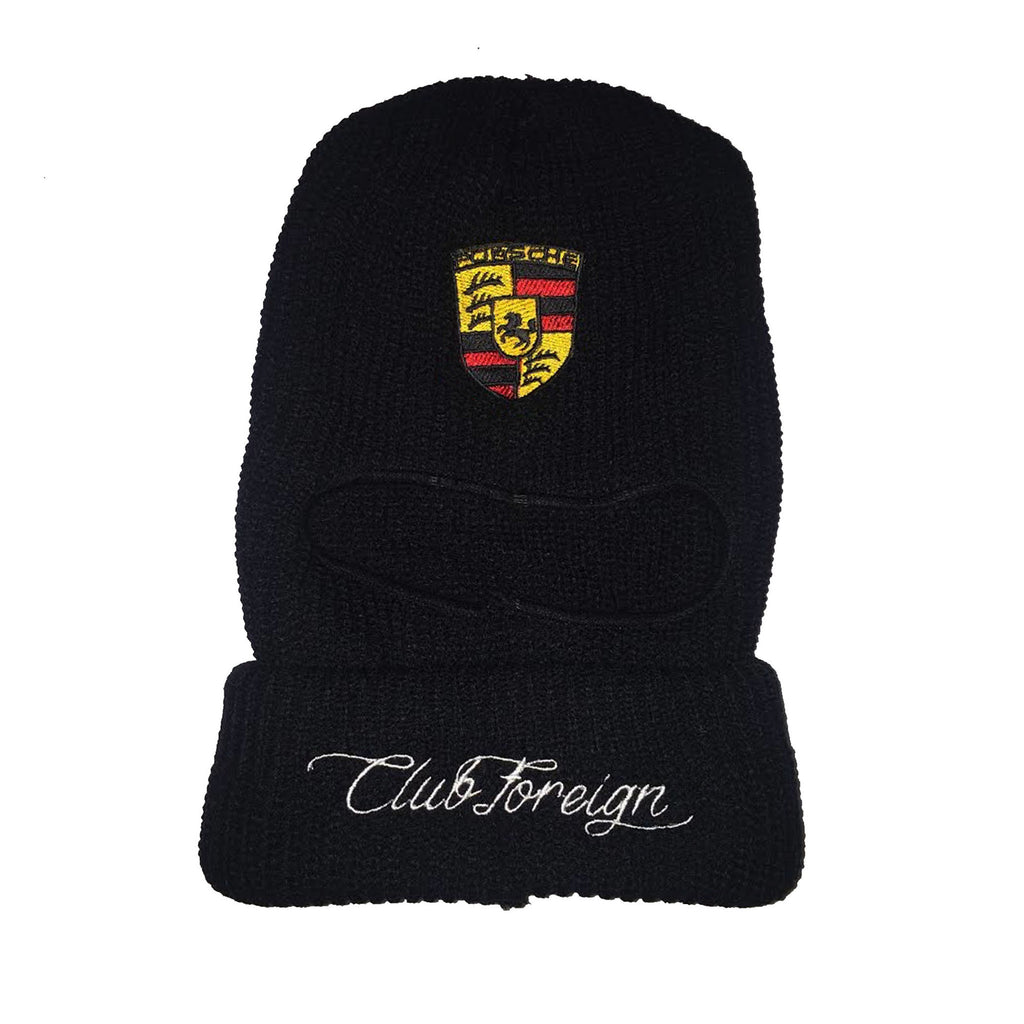"Club Foreign Race Mask ""Porsche"""