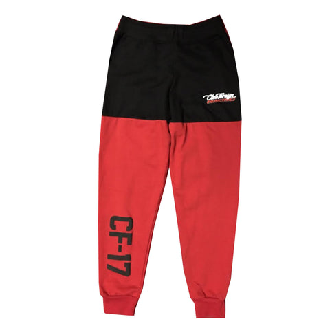 "Club Foreign Racing Jogger Pant 2 Tone ""Red"""