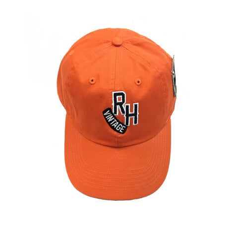 "Rock Hard Vintage ""RH"" Dad Hat ""Orange"""