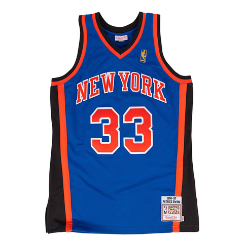 1998-99 Authentic Jersey New York Knicks