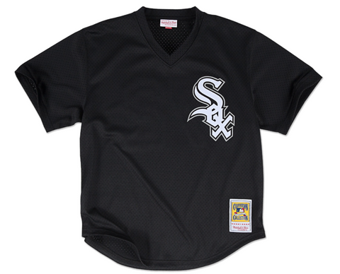 Bo Jackson 1993 Authentic Mesh BP Jersey Chicago White Sox