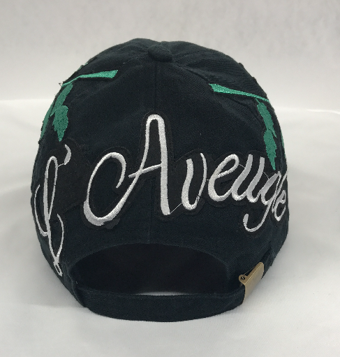 "L Avengles ""Antique Rose"" Dad Hat ""Black"""