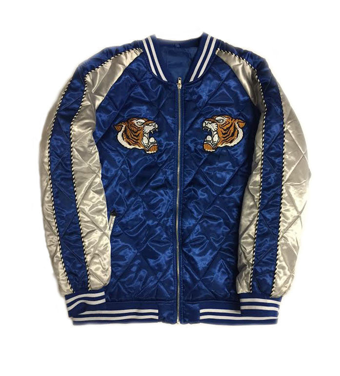 "Quilted Souvenir Jacket ""Blue"""