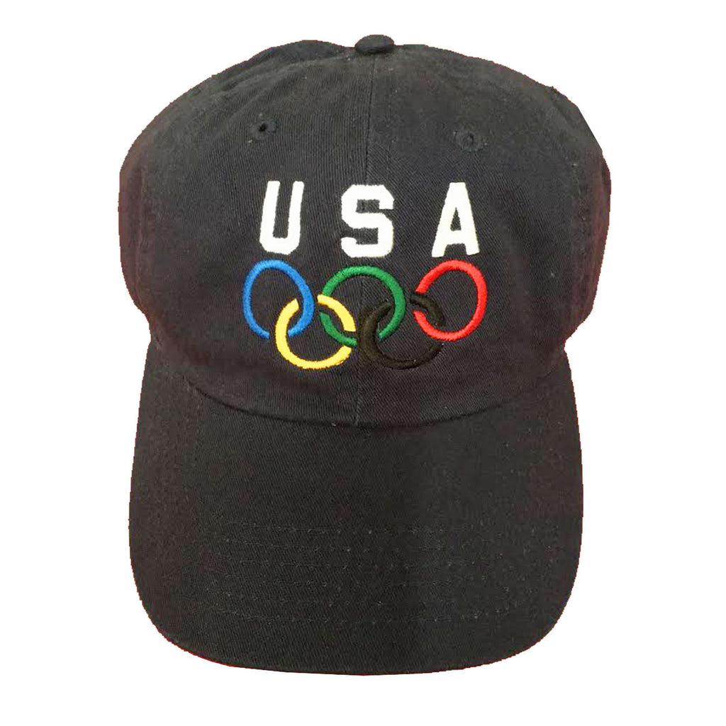 "Vintage USA Olympic Dad Hat ""Navy"""