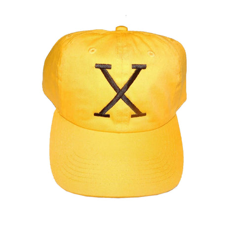 "Originals ""X"" Strapbacks ""Yellow"""