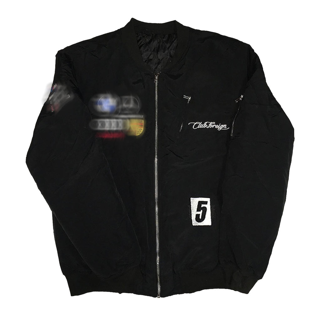 "Club Foreign Bomber Jacket ""Black"""
