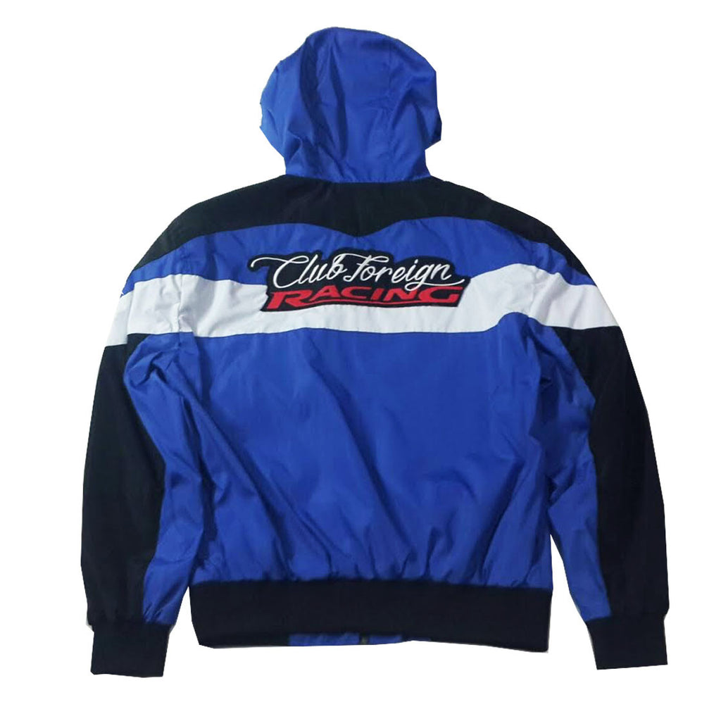 "Club Foreign Racing Windbreaker Jacket ""Royal"""