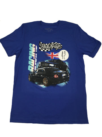 "Club Foreign Racing ""Britain"" T Shirt ""Blue"""