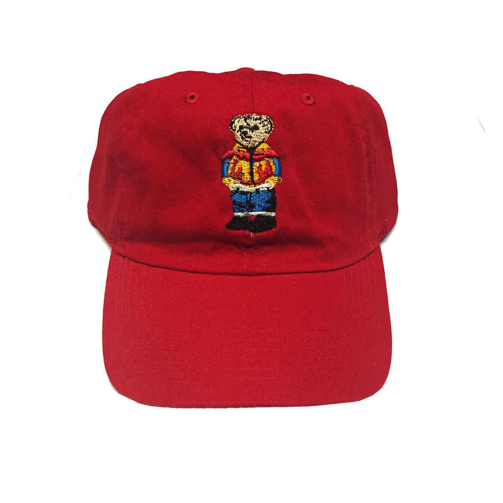 "Originals ""Bear"" Strapback Hat ""Red"""