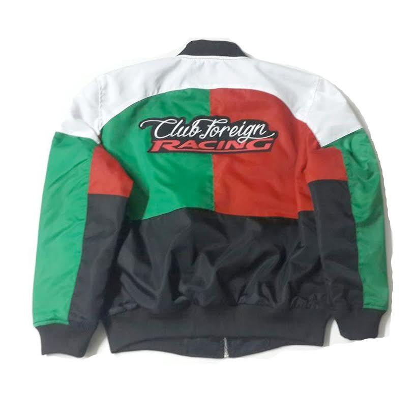 "Club Foreign Racing Worldwide Jacket ""White/Red/Green"""