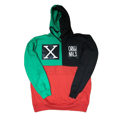 "Originals ""X"" Tri-Color Hoodie"