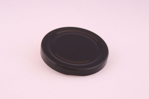 70mm Metal Twist Cap, Black