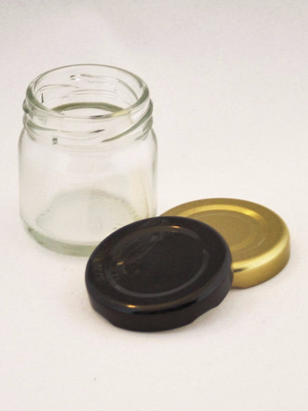 Jar, 40ml Round Glass, 43mm Twist finish