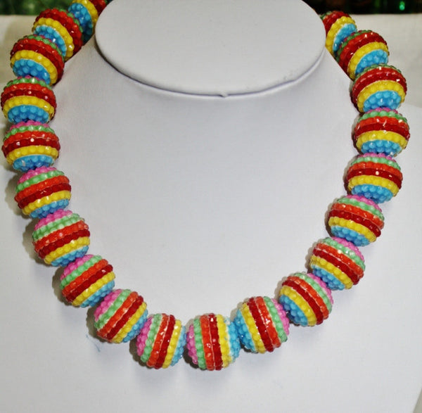 Chunky Beaded Necklaces