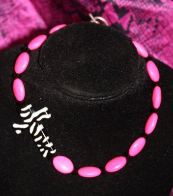 GUG Original- Pink with Zebra Side Cross