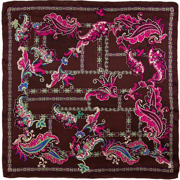 Paisley Wild Rag in Morocco