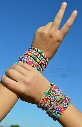 Colorful Serape Bracelets