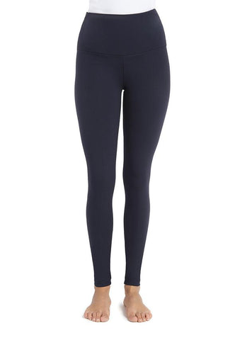 Lysse Tummy Control Premium Full Length Leggings in Navy Blue