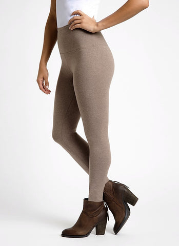 Lysse Premium Tummy Control Ankle Length Leggings WICKER MELANGE