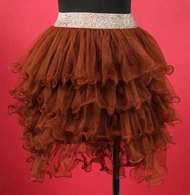 Frilly Brown TuTu