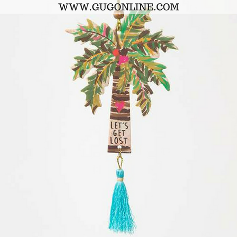 Let's Get Lost Palm Tree Car Air Fresheners