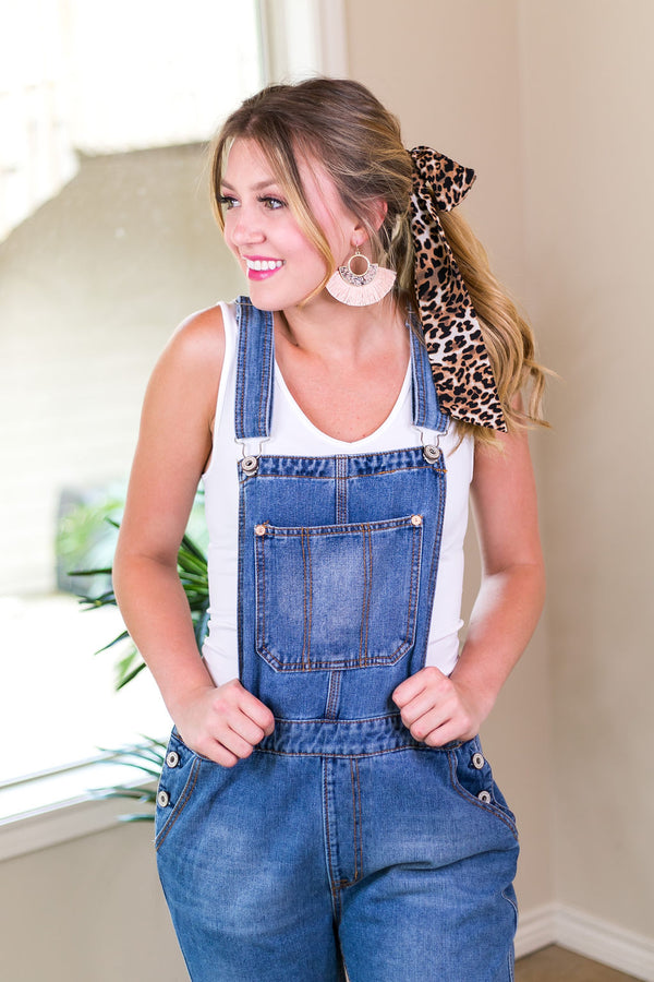 Best Overall Denim Overalls in Medium Wash