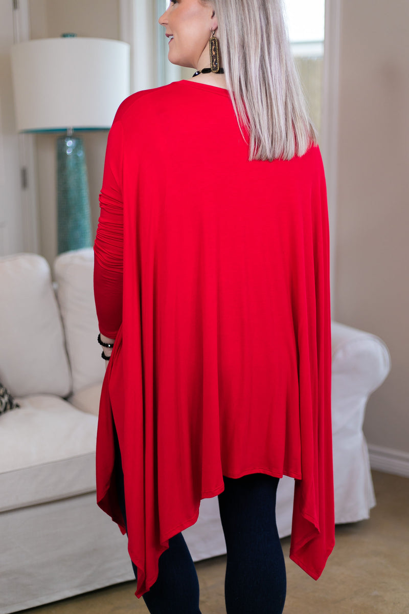 Valentines Day Red Tops Plus Size Missy