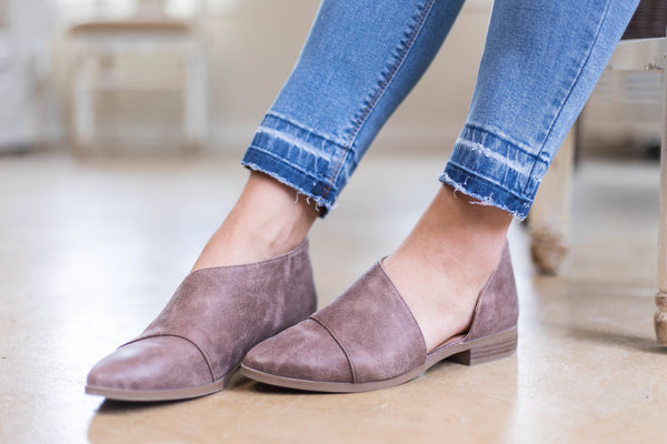 Cute Trendy Flat Leather Shoes