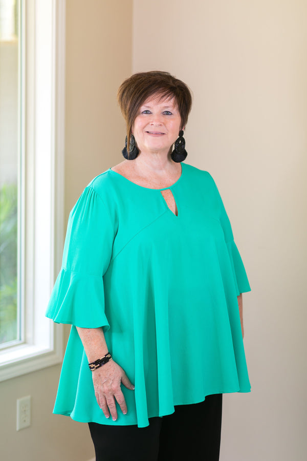 she and sky meet me in the middle plus size curvy girl fashions trendy boutique seafoam green turquoise jade