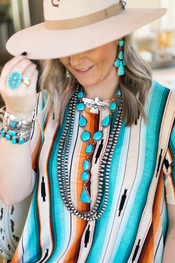 Alfred Martinez Genuine Sterling Silver Indian Handcrafted white buffalo sleeping beauty dry creek royston kingman turquoise carico lake earrings bracelets necklace heritage style turqouise & co
