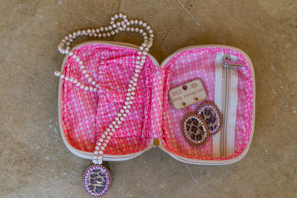 Cute Trendy Chic Jewelry Bag | Pink Panache