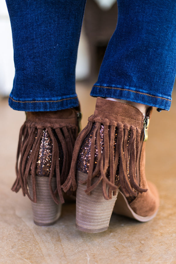 Very G Boots | Very G Shoes | Fringe Booties