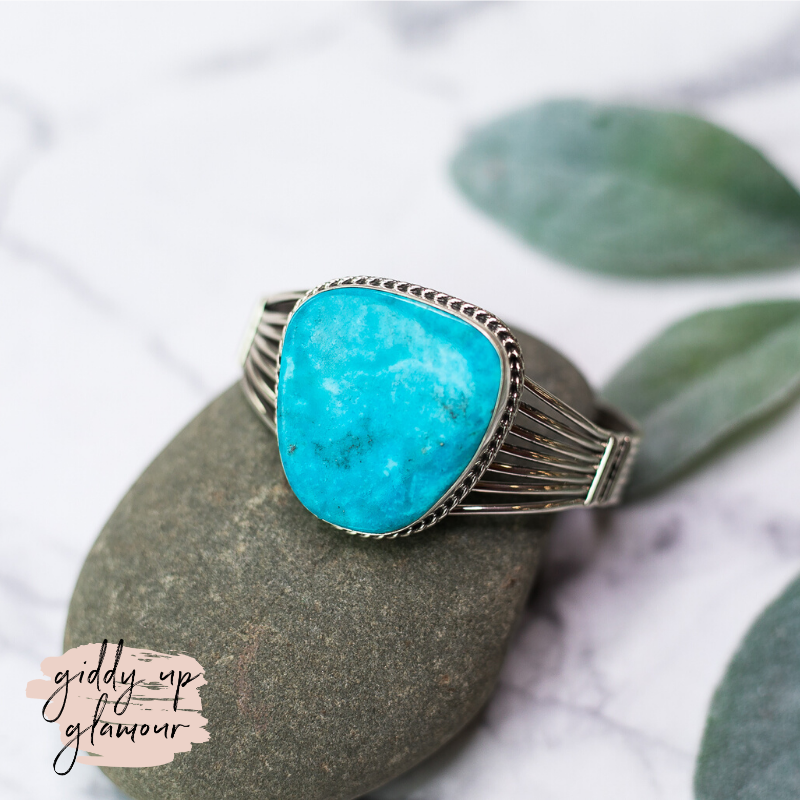 betta lee navajo zuni nations native american indian handmade handcrafted sterling silver cuff bracelet kingman sleeping beauty blue ridge turquoise heritage style turqouise and co c rivers design our lady lil bees bohemian