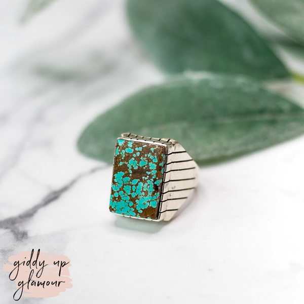 ray jack large turquoise number #8 stone sterling silver ring handmade handcrafted navajo zuni nations native american kingman arizona mined ray jack heritage style turquoise and co indian c rivers designs our lady turquoise lil bees bohemian