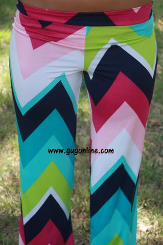 Baby, Get Your Chevron Multi Color Pants