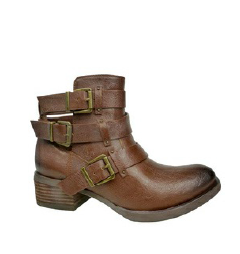 Brydie Ankle Bootie in Tan - Size 6