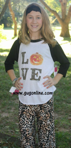Cheetah Love Halloween Baseball Tee