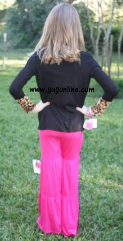 Children's Pocket Full of Love Top in Leopard
