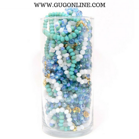 Stackable Crystal Bracelets - Island